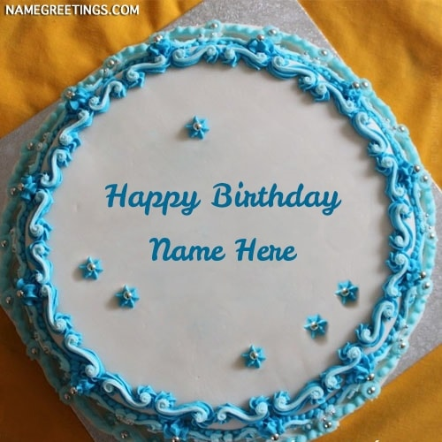 Write Name On Happy Birthday Cake Picture